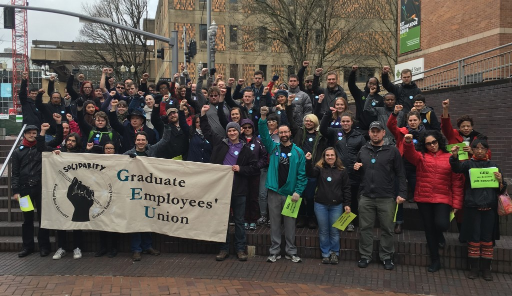 Graduate Employees Union at Portland State University